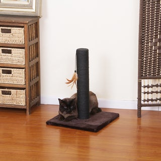 PetPals Chocolate Cinch Cat Scratching Post