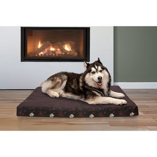 FurHaven Garden Indoor/Outdoor Deluxe Cooling Gel Top Pet Bed