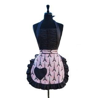 Vintage Darling Pink J'Adore Paris Apron