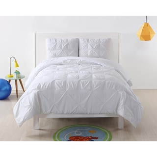 Link to My World Pinch Pleat Solid Comforter Set Similar Items in Kids Comforter Sets