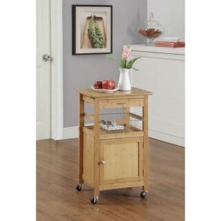 Bamboo Kitchen Cart w. Baskets