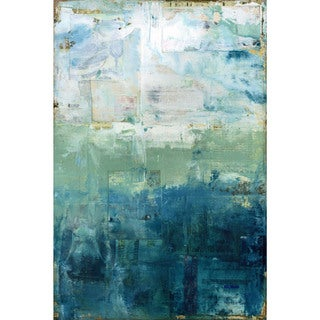 'Coastal' Painting Print on Wrapped Canvas