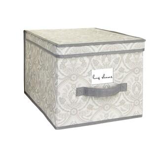 Laura Ashley Almeida Grey Large Storage Box
