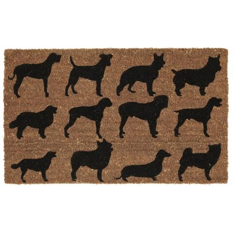 Handmade Fab Habitat Ruff Party Doormat (United States)