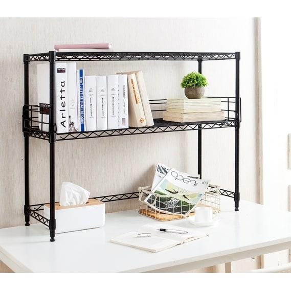 Desktop Bookshelves: Shop Suprima Desktop Carbon Steel Bookshelf