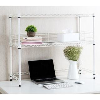 Suprima Desktop Carbon Steel Bookshelf. Opens flyout.