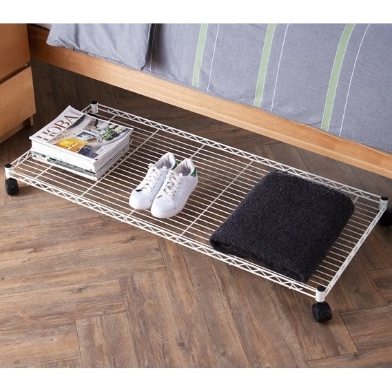 Suprima Rolling Underbed Storage Shelf Free Shipping On Orders Over 45 16403539