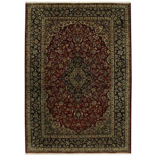 Handmade One-of-a-Kind Isfahan Wool Rug (Iran) - 10'1 x 14'5