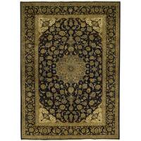 Handmade Herat Oriental Persian Tribal Isfahan Wool Rug - 9'9 x 13'6 (Iran)