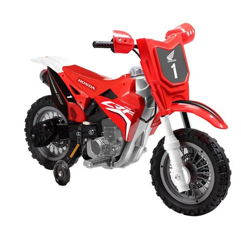 Best Ride On Cars Honda Red CRF250R 6V Dirt Bike