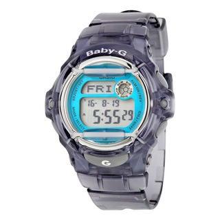 Casio Women's BG169R-8B 'Baby-G' Digital Grey  Resin Watch