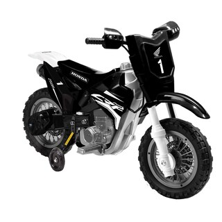 Best Ride On Cars Black Honda CRF250R 6V Dirt Bike