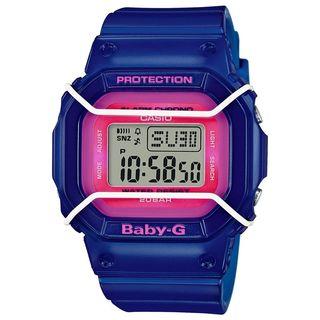 Casio Women's BGD501FS-2 'Baby-G' Digital Blue Resin Watch