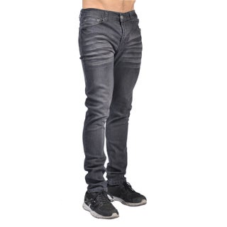 Indigo People Mens Slim Fit Denim Grey Jeans (4 options available)