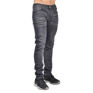 Indigo People Mens Slim Fit Denim Grey Jeans (5 options available)