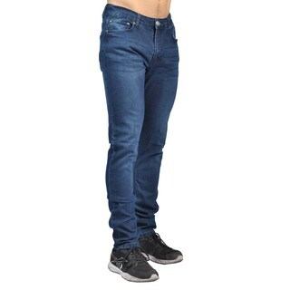 Indigo People Mens Slim Fit Denim Dark Wash Jeans