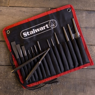 Punch And Chisel Set, 16 Pieces- By Stalwart
