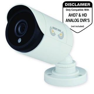 Night Owl CM-HDA10W-BU 2 Megapixel Surveillance Camera - 1 Pack - Col (As Is Item)