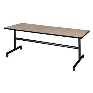 "Kobe 72"" x 30"" Flip Top Mobile Training Table"