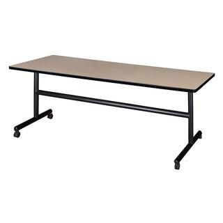"Kobe 72"" x 30"" Flip Top Mobile Training Table"