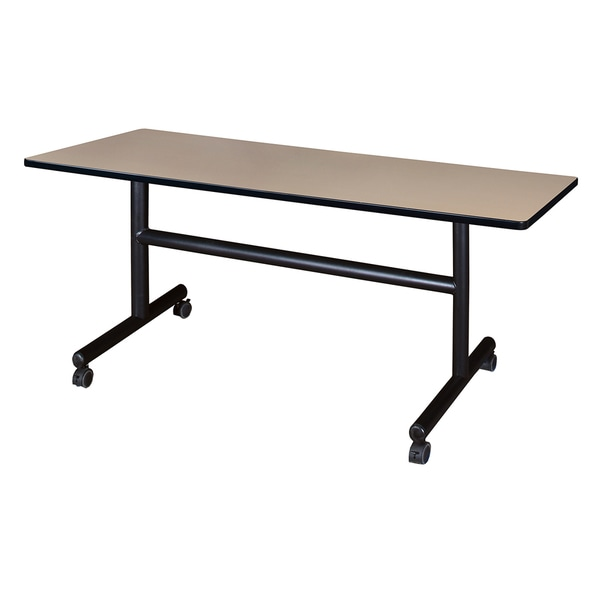 "Kobe 60"" x 30"" Flip Top Mobile Training Table"