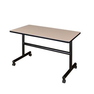 "Kobe 48"" x 30"" Flip Top Mobile Training Table"