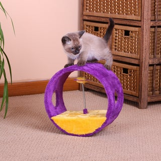 PetPals Vortex Fleece Cat Toy