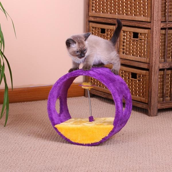 PetPals Vortex Fleece Cat Toy