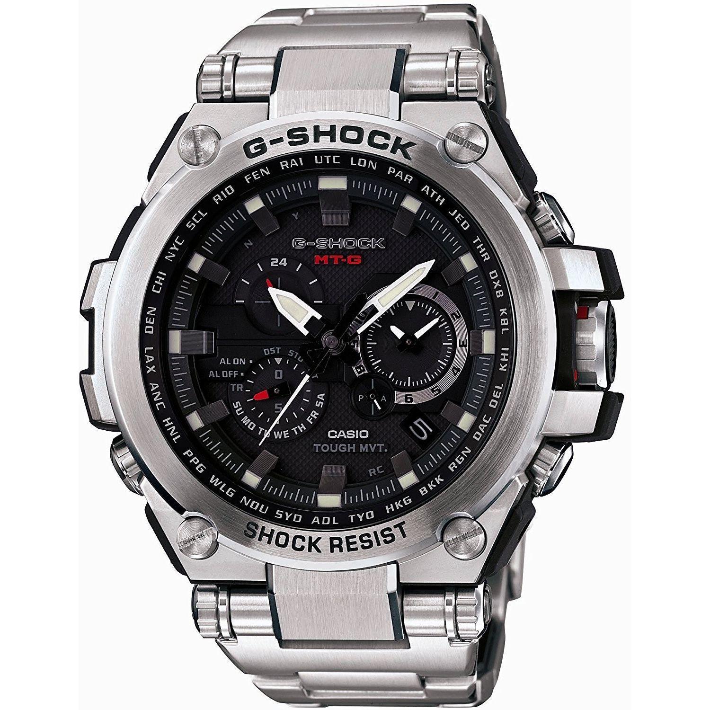 Casio Men's MTGS1000D-1A 'G-Shock' Chronograph Black Stai...