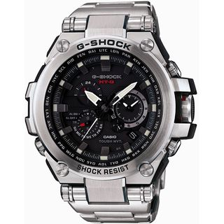Casio Men's MTGS1000D-1A 'G-Shock' Chronograph Black Stainless Steel Watch