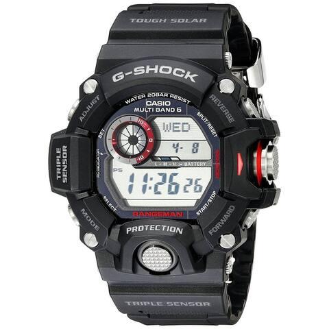 Casio Men's GW9400-1 'G-Shock' Digital Black Resin Watch