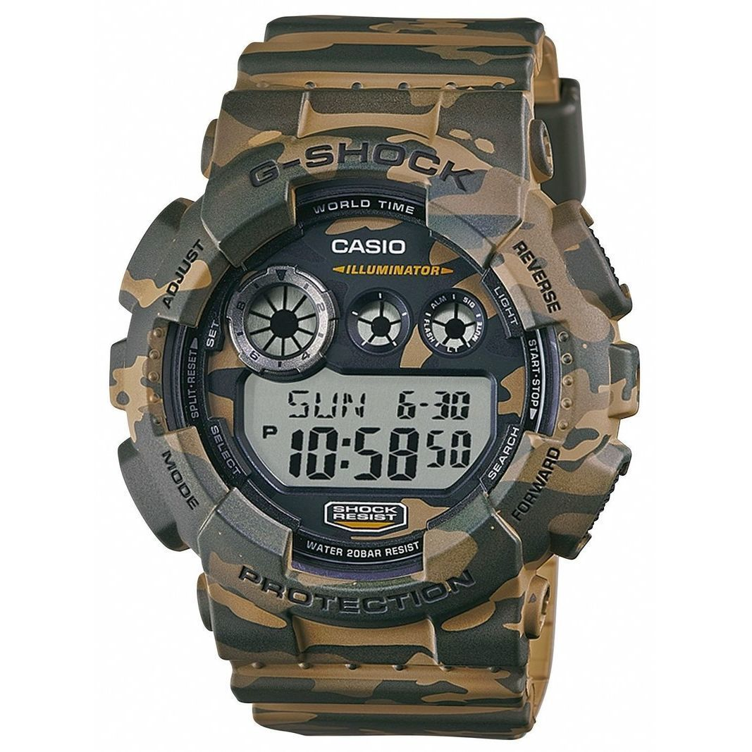 Casio Men's GD120CM-5 'G-Shock' Digital Brown Resin Watch...
