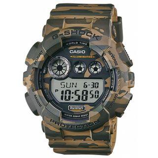 Casio Men's GD120CM-5 'G-Shock' Digital Brown Resin Watch