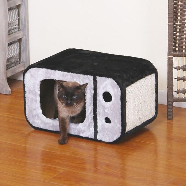 PetPals T-Veee Cat Bed Scratcher. Opens flyout.