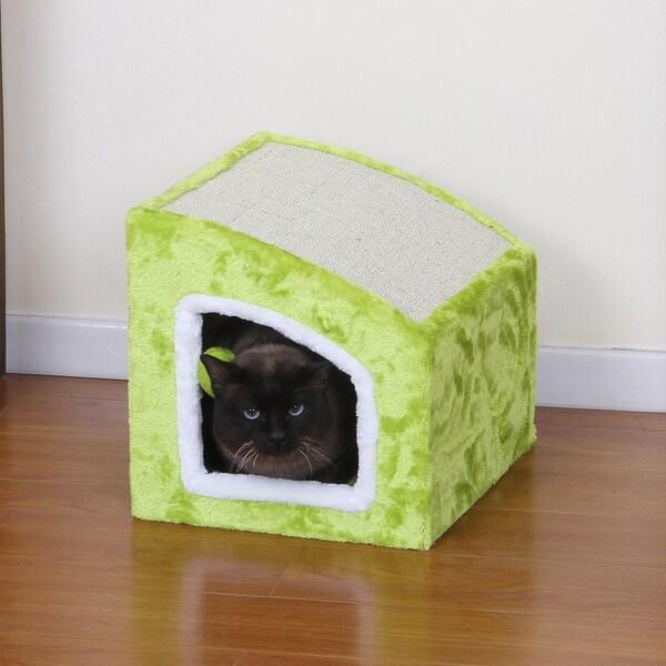 Petpals Moyo Cat Condo With Sisal Mat Teasing Toys