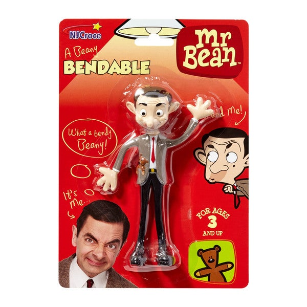 Mr. Bean Bendable Figure