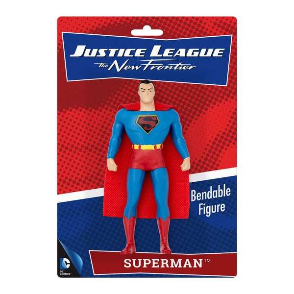 "DC Comics Superman New Frontier 5.5"" Bendable Figure"