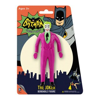 DC Comics The Joker 1966 Bendable Figure