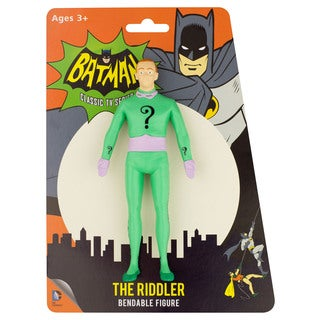 DC Comics The Riddler 1966 Bendable Figure