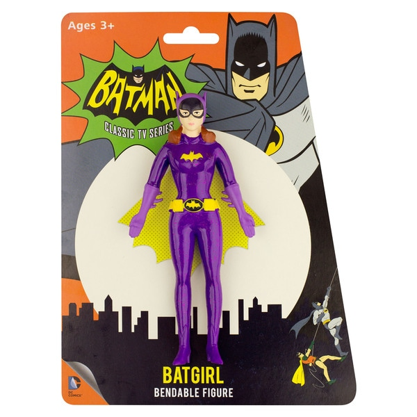 DC Comics Batgirl 1966 Bendable Figure