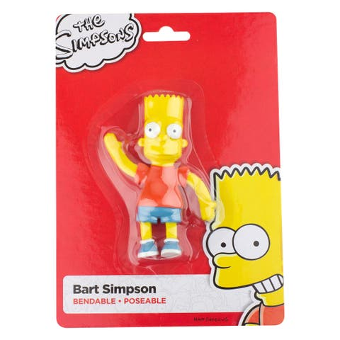 "Bart Simpson 4.5"" Bendable Figure"