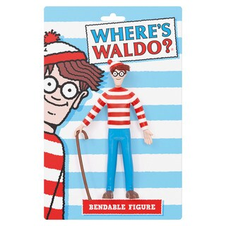 Where's Waldo? Bendable Figure