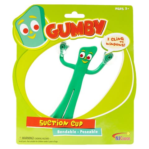 Gumby Suction Cup Figure