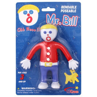 "Mr. Bill 5"" Bendable Figure"