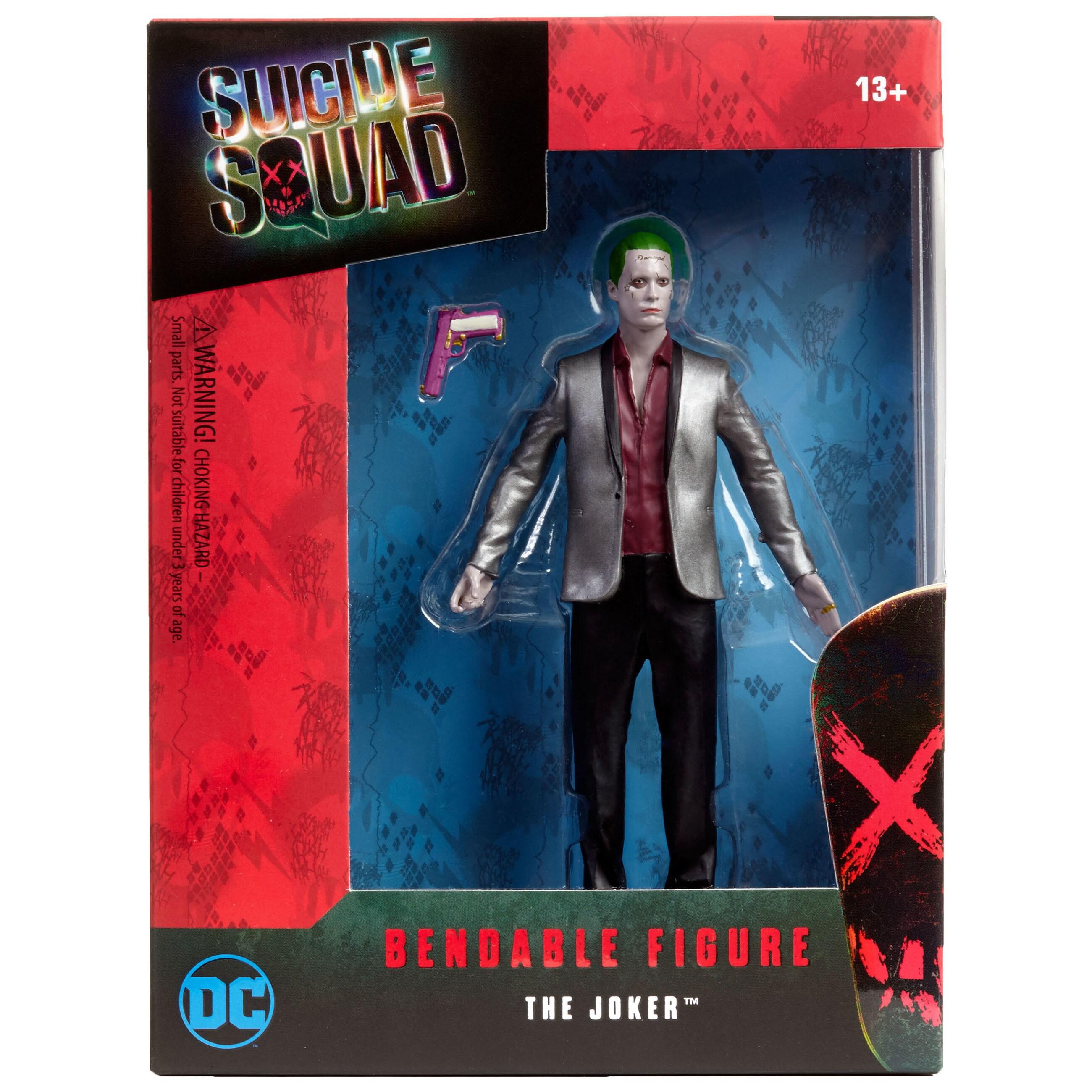 DC Comics Suicide Squad Jared Leto Joker6 Bendable Figure