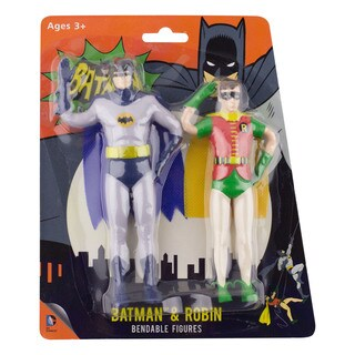 "DC Comics Bendable 5.5"" Figure 1966 Batman & Robin"