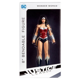 "DC Comics - Justice League Wonder Woman 8"" Bendable Figure"