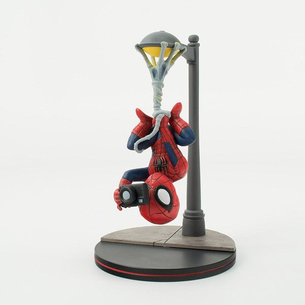 Quantum Mechanix Spider-Man Spider Cam Q-Fig Figure