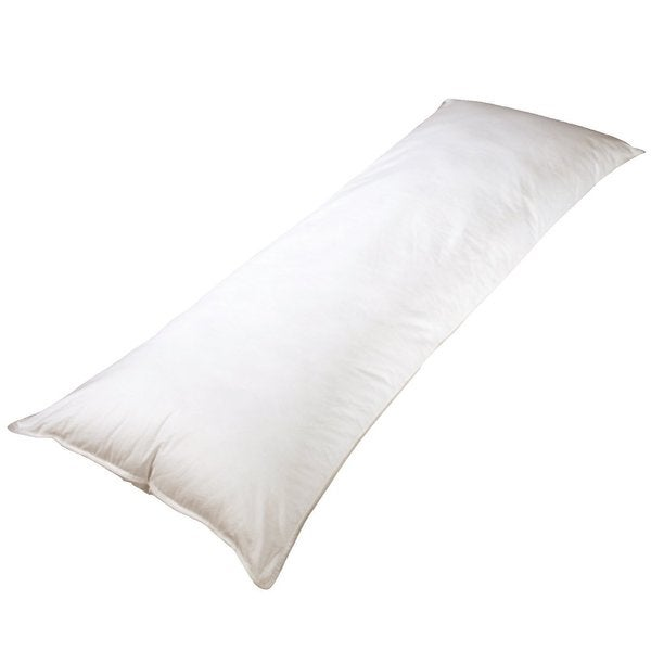 20 x 54 inch Feather Body Pillow