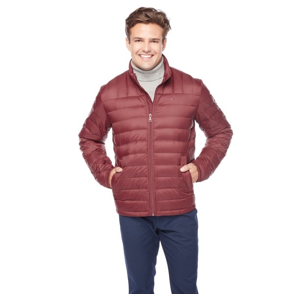 35bd1eb12d7e2 Shop Tommy Hilfiger Men s Classic Down Packable Jacket - Free ...